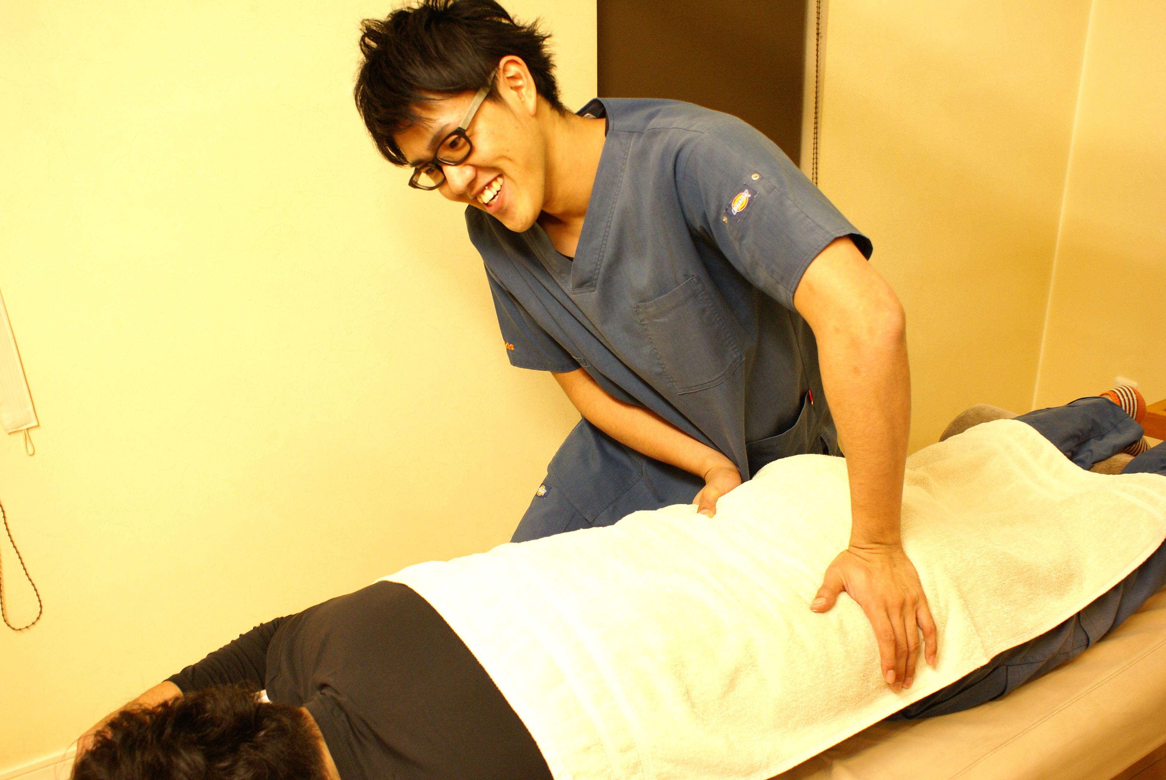 ハンズ鍼灸接骨院 筋肉調整 深層筋調整